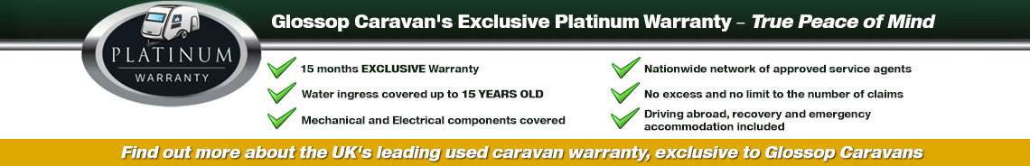Glossop Caravan's Exclusive Platinum Warranty