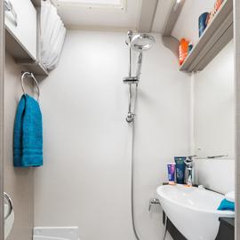 Well Equiped Bathroom Area