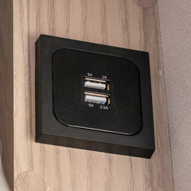 Double USB Socket
