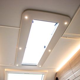 Upgraded Rooflights & Larger Heki