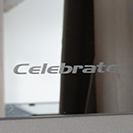 Unique Logo on Lounge Mirror